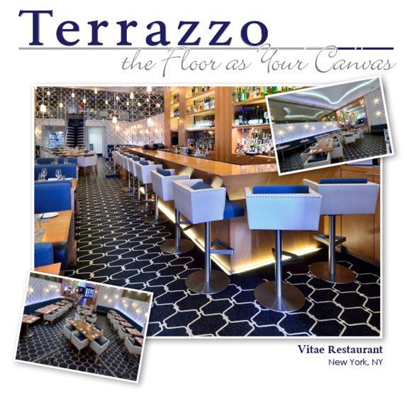 Floor As Your Canvas Vitae Restaurant Terrazzo