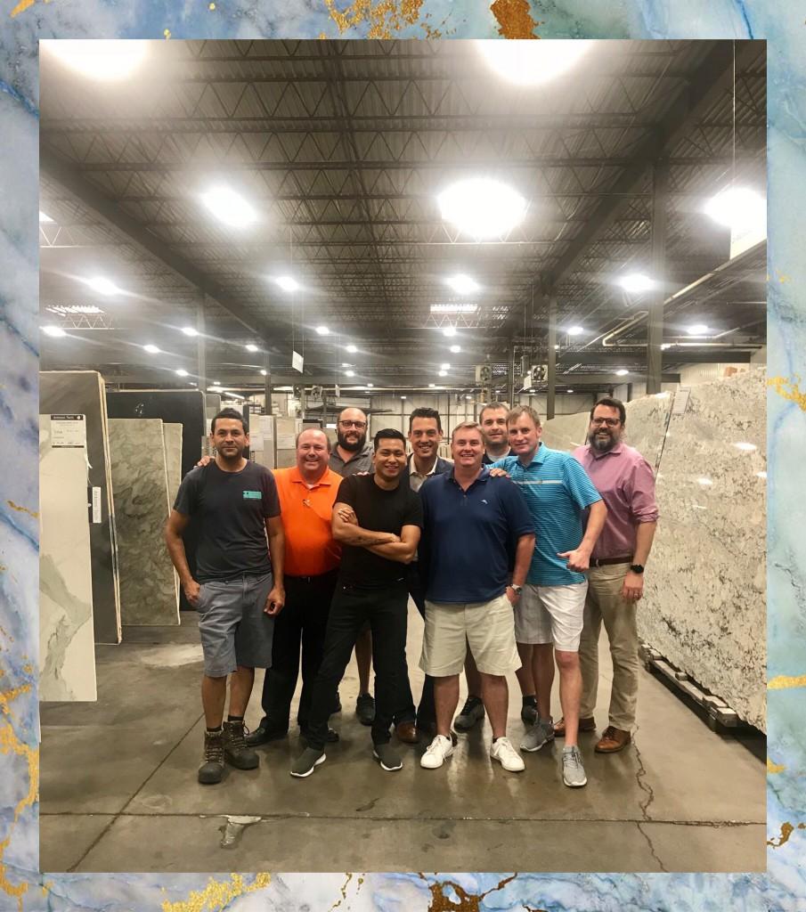 The Men Of T Amp M Terrazzo Amp Marble Supply