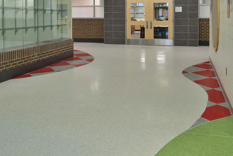 Coventry Oaks Elementary Terrazzo Marble Supply