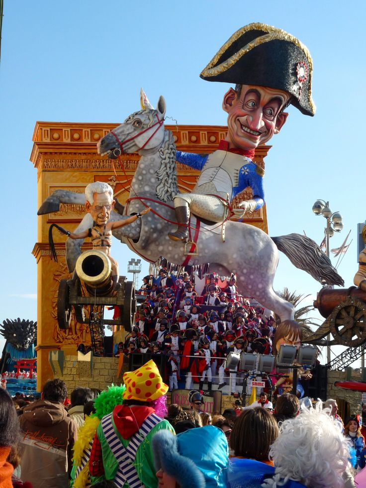 The infamous Carnival of Viareggio