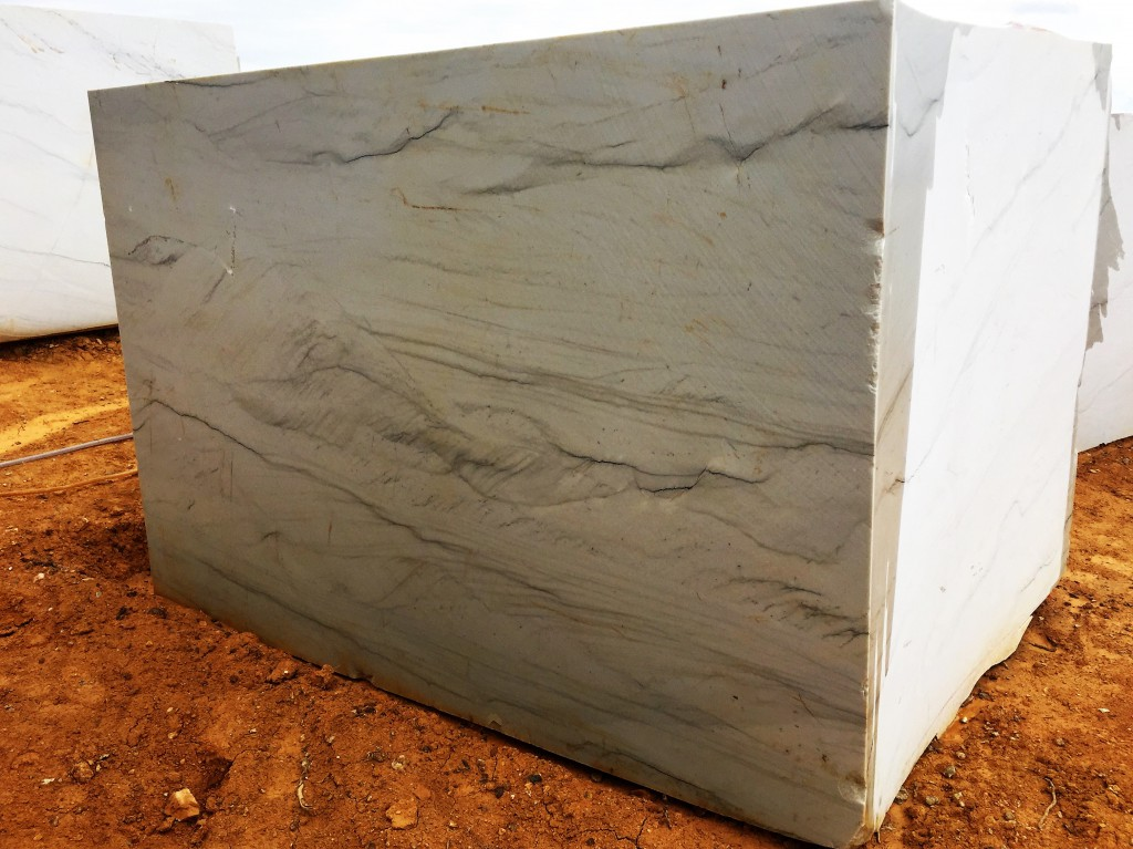 Quarried block of Alta Quartzite