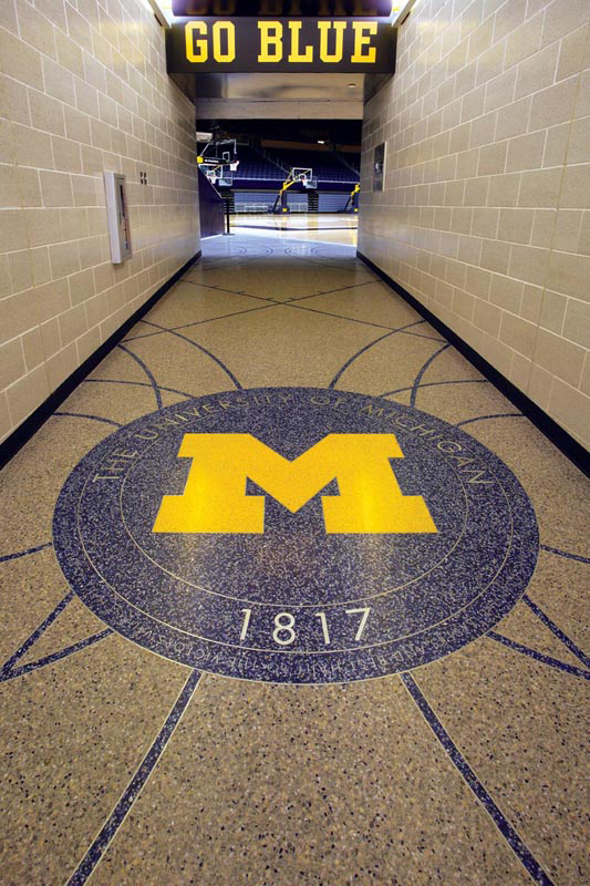 University of Michigan Crisler Center – Michielutti Bros.