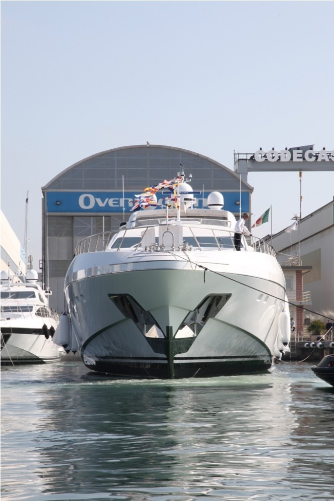Viareggio, known for their shipbuilding industry, produce some of the most luxurious yachts