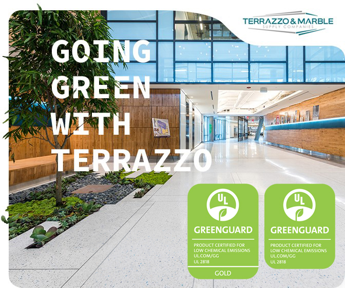 Sustainability Terrazzo Marble Supply