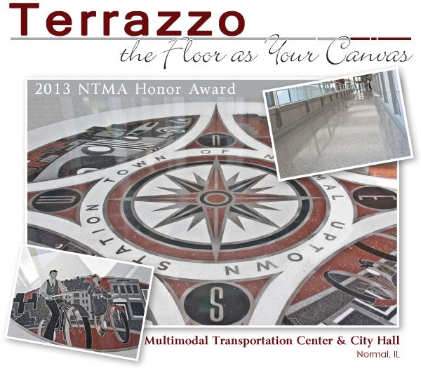 Multimodal Transportation Center Amp City Hall Terrazzo